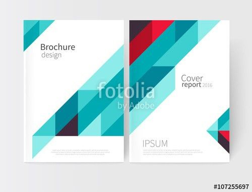 Cover design. Brochure, flyer, poster, annual report cover ...