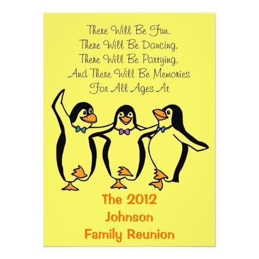 Antique Family Reunion Generic Invitations | Invitations 4 U