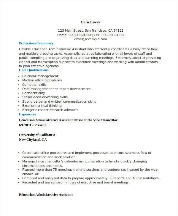 Cover Letter For Administrative Assistant. Administrative ...