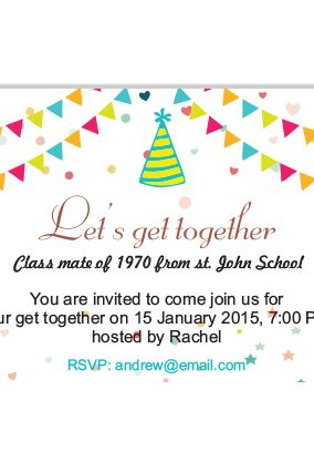 Awesome Invitation Cards For Get Together 23 On Teachers Day ...
