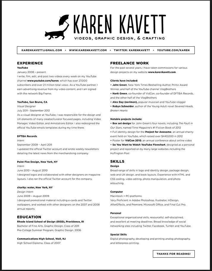 Best Font For Cover Letter - My Document Blog