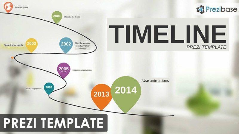 Timeline Prezi Templates | Prezibase