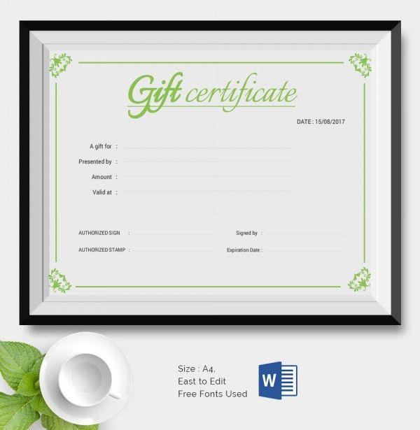 25+ Certificate Templates | Free & Premium Templates