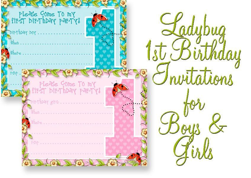 Wonderful Free Printable Birthday Party Invitation Templates On ...