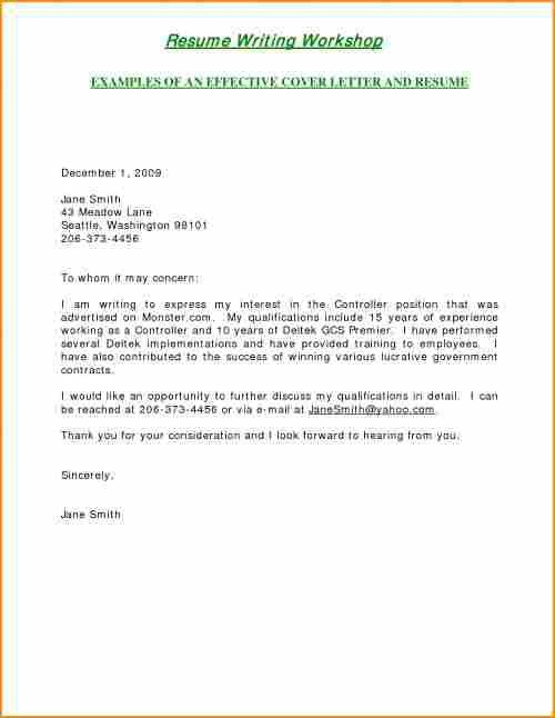 15+ how to write a cover letter for internship sample - Basic Job ...