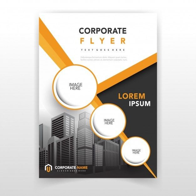Corporate Report Template. green commercial annual report template ...