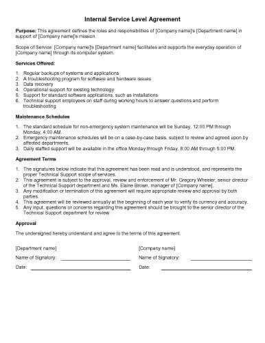 31 Sample Agreement Templates In Microsoft Word