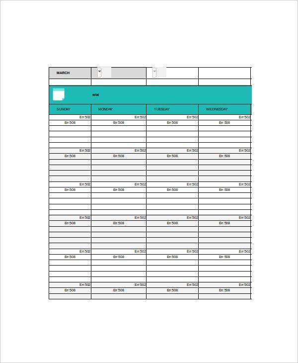 6+ Student Daily Planner Templates - Free Sample, Example, Format ...