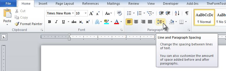 Fixing your #@(*$#)$( Single-Spacing in Microsoft Word