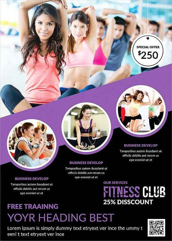 Fitness Flyer Templates | Free & Premium Templates