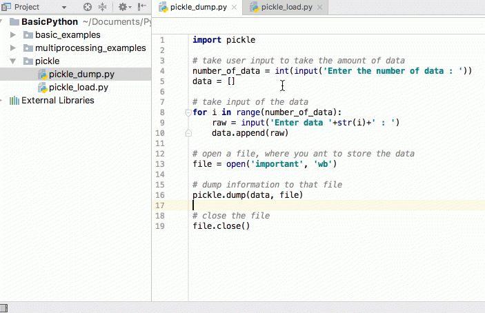 Python Pickle Example - JournalDev