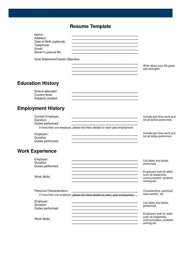 Resume : Format To Write A Cv Teaching Resume Example Resume ...