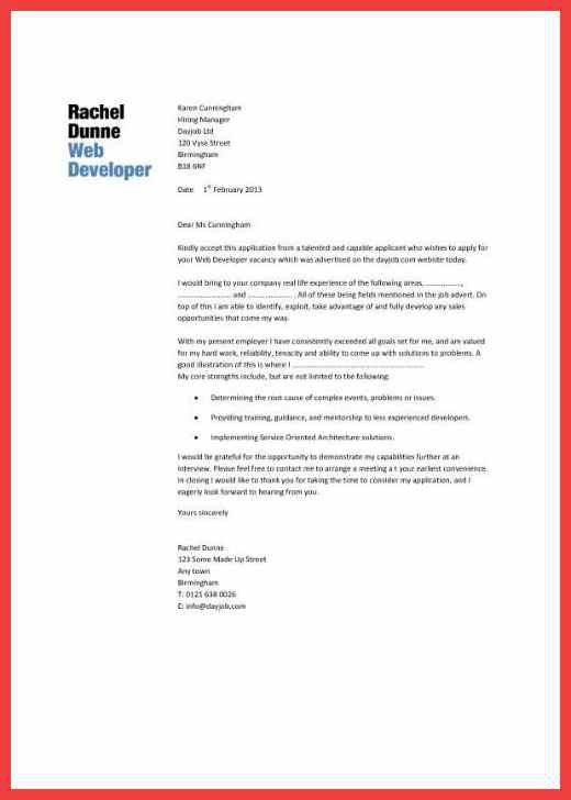 graphic design cover letter | memo example