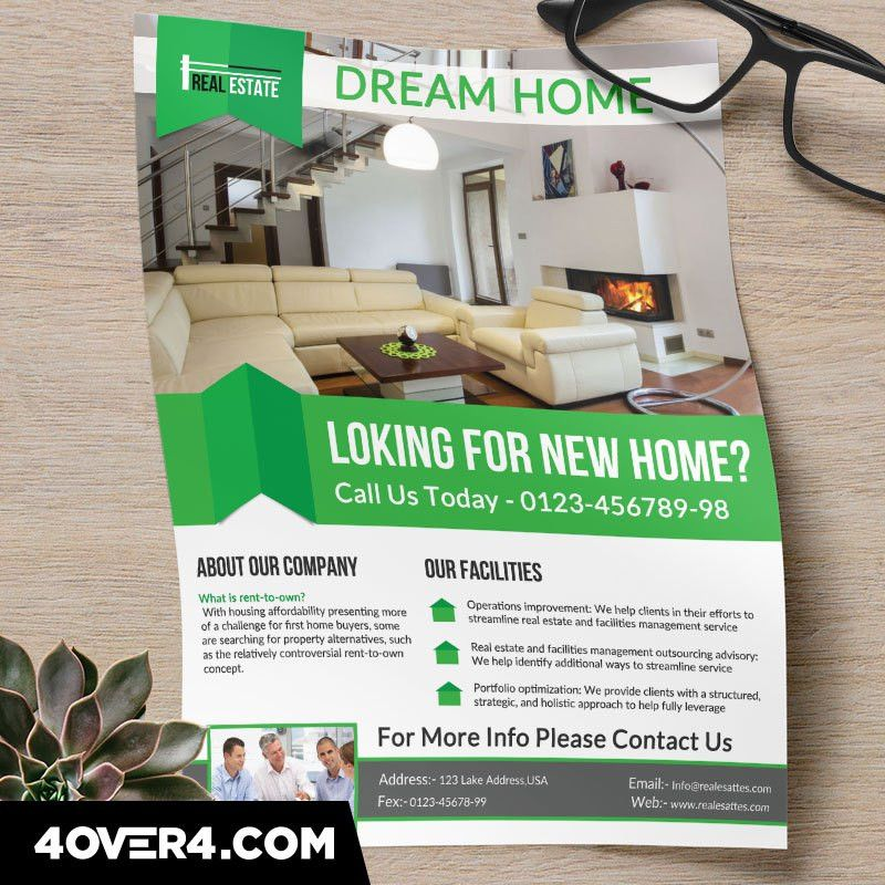 Custom Printing Quick Guide: The Perfect Real Estate Flyer
