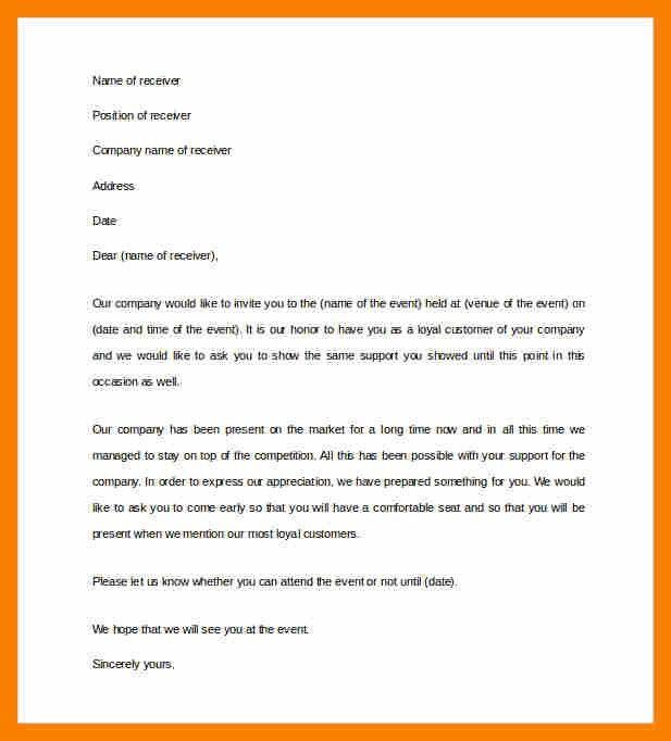 6+ invitation letter format | biology resume