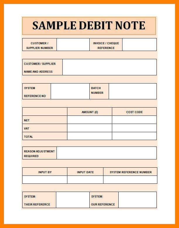 8+ debit note sample | childcare resume