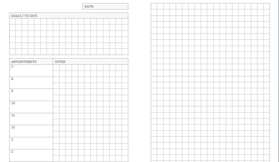 Arc Notebook Templates. arc notebook templates. happy planner ...
