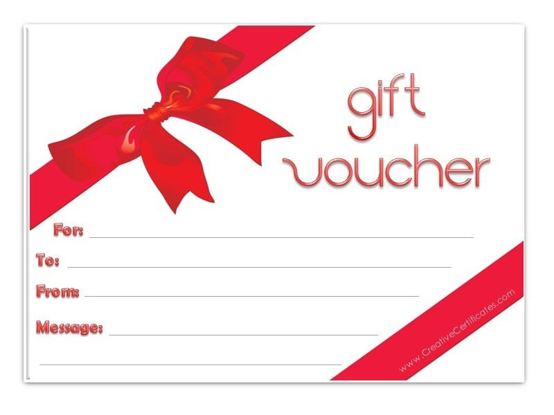 6 Free Gift Voucher Templates - Excel PDF Formats