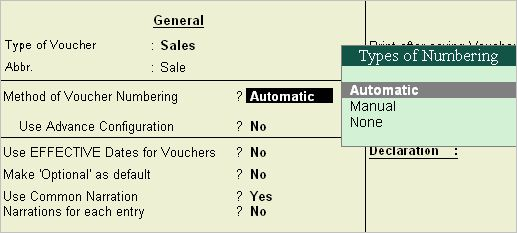 Tally.ERP 9 Series A Reference Manual > Creating Masters ...