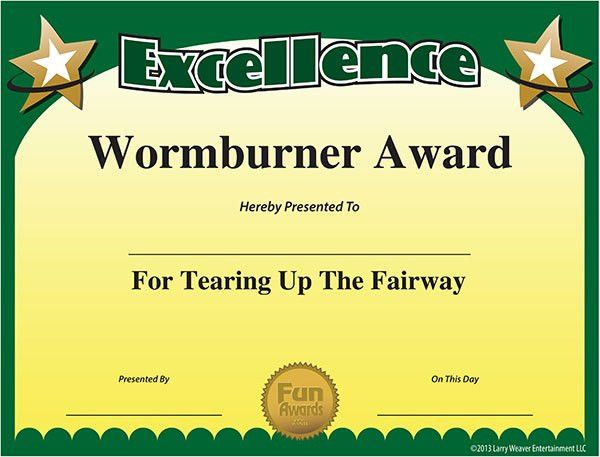 Funny Sports Awards - Free Printable Sports Award Certificates ...