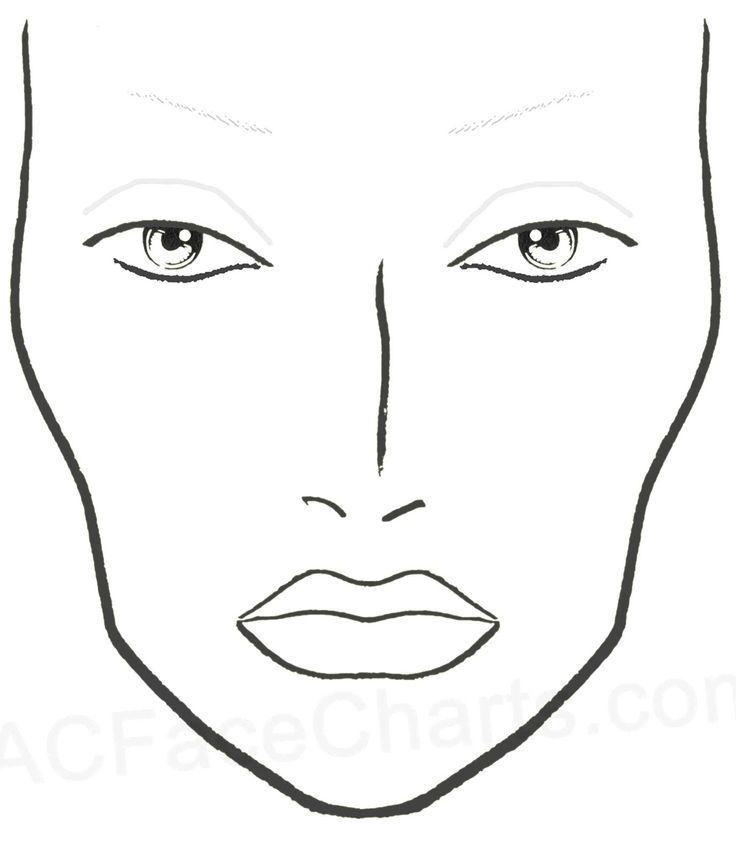 12 best ميك اب رسم images on Pinterest | Mac face charts, Make up ...