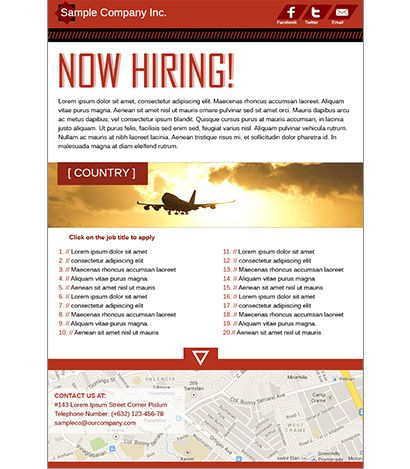 WorkAbroad.ph Landing and Banner Ad Templates