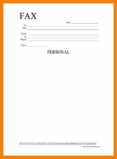 7+ fax cover sheet free print | science-resume