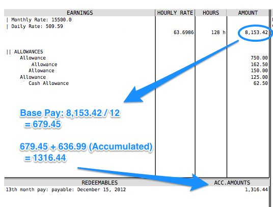 How to Compute the 13th Month Pay? – PayrollHero Support