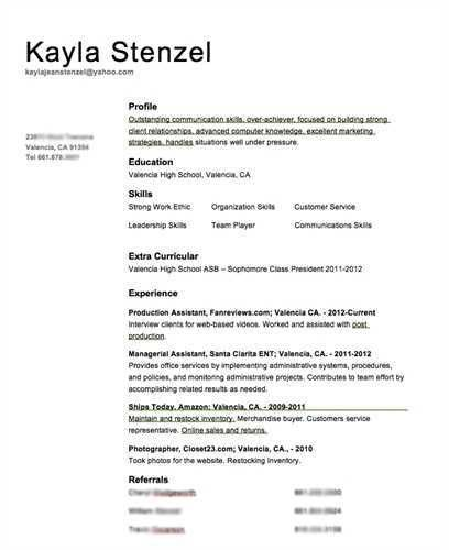 Volunteer Experience Resume - Resume Samples