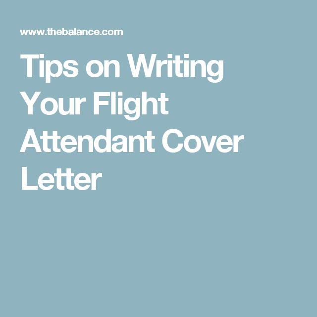 Flight Attendant Cover Letter Example and Skills List | Flight ...