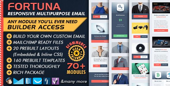 Email Template Builder - Modern Responsive Email by Bedros ...