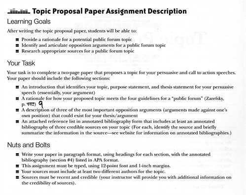 How to write proposal essay