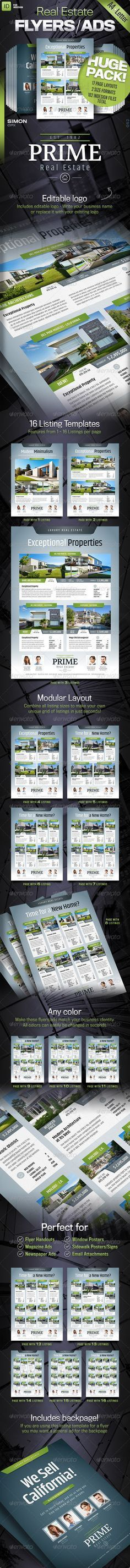 """Real Estate Flyer / Magazine AD 