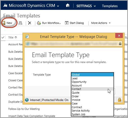 Microsoft Dynamics CRM Email Templates | The CRM Book