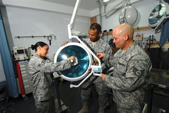 Surgery patients no longer 'in the dark' > U.S. Air Forces Central ...
