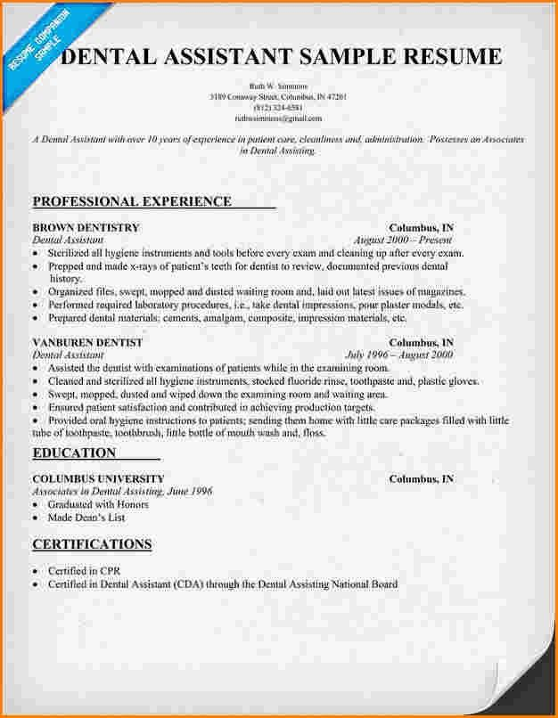 Dental Assistant Cover Letter. Dental Assistant Cover Letter ...