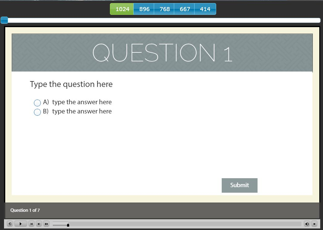 5 New Quiz Templates Added to the Library | eLearning