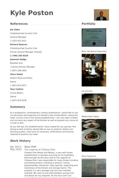 19+ [ Executive Chef Resume Samples ] | Sample Cv For ...