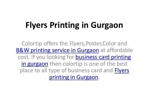 Color Printing in Gurgaon, Poster Printing in Gurgaon