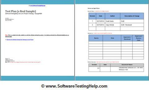 How to Write a Test Plan Document from Scratch (A Real Test Plan ...