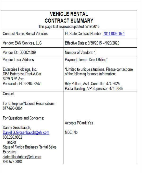Sample Rental Invoice - 7+ Examples in PDF