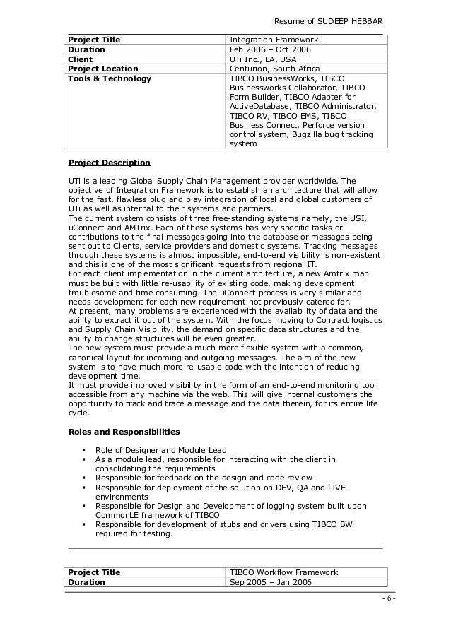 Resume-Sudeep