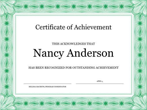 Certificates - Office.com