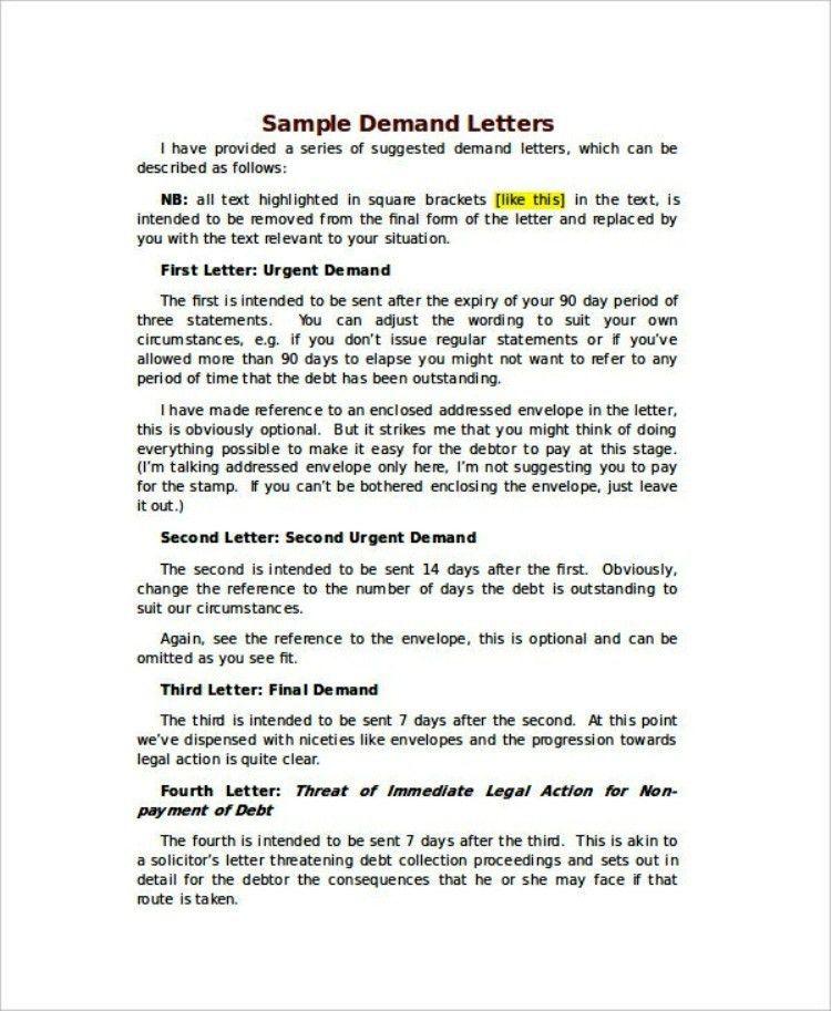 Basic Overdue Invoice Notice Letter Template | TemplateZet