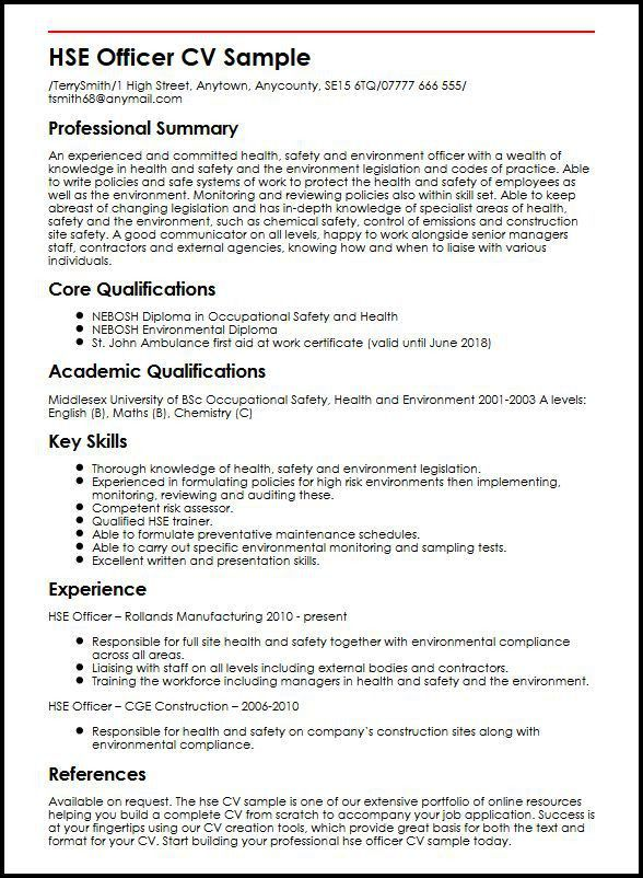 Academic Cv Template. English Cv Example Download Sample Resume ...