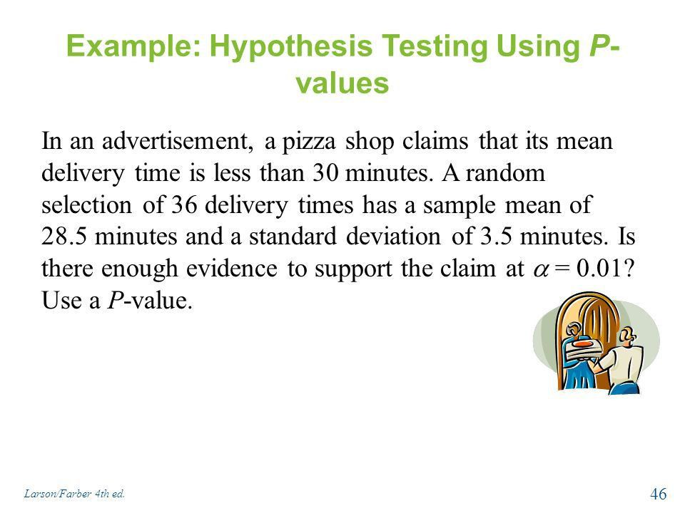 Hypothesis Testing with One Sample - ppt download