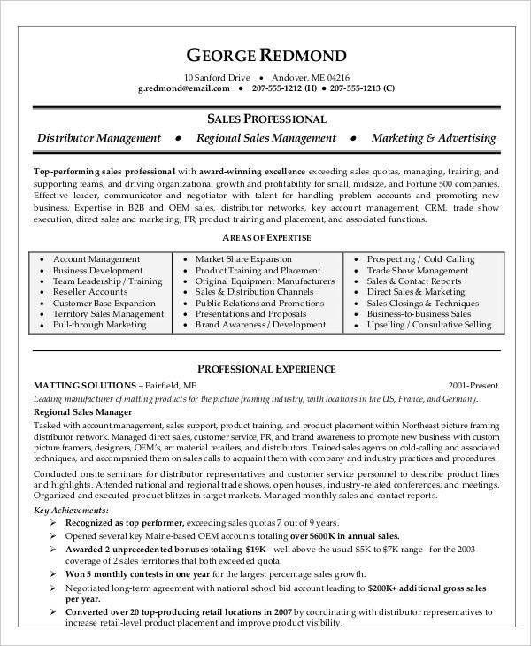 54 Manager Resumes in PDF | Free & Premium Templates