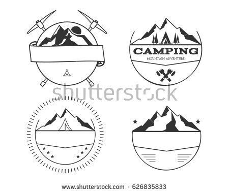 Set Ski Logo Design Template Elements Stock Vector 561214075 ...