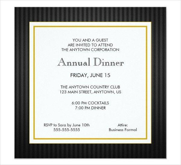 7+ Dinner Invitation Cards - Editable PSD, AI, Vector EPS Format ...