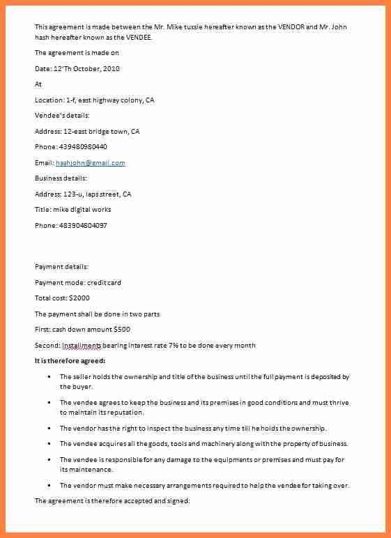 6+ sales contract sample | Invoice Example 2017